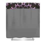 Magnolia  Diva Abstract Shower Curtain