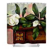Magnolias Shower Curtain