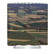 Mahantango Creek Watershed, Pa Shower Curtain