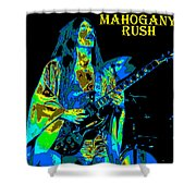 Mahogany Rush Seattle 1978 B Shower Curtain