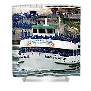 Maid Of The Mist Boat At Niagara Falls Shower Curtain