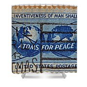 Mail Early For Christmas And Peace Shower Curtain