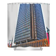 Main Place Tower Shower Curtain