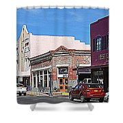 Main Street In Silver City Nm Shower Curtain