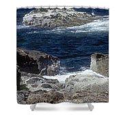 Maine Coast Surf Shower Curtain
