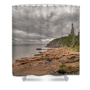 Maine Coastline. Acadia National Park Shower Curtain
