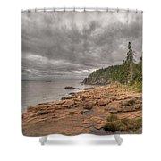 Maine Coastline. Acadia National Park Shower Curtain