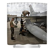 Maintenance Crew Works On Replacing Shower Curtain by HIGH-G Productions
