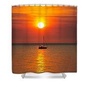 Majestic Sunset V2 Shower Curtain