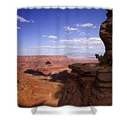 Majestic Views - Canyonlands Shower Curtain