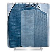 Majesty Building Shower Curtain