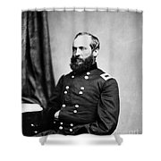 Major General Garfield, 20th American Shower Curtain by Chicago Historical Society