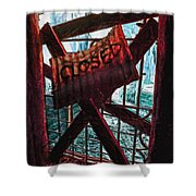 Make Sure You Are On The Right Side Of Heaven's Gate Shower Curtain