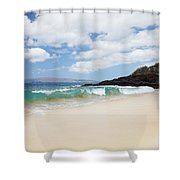 Makena Coast Shower Curtain