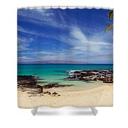 Makena Cove Maui Shower Curtain
