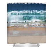 Makena Waves Shower Curtain