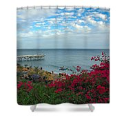 Malibu Beauty Shower Curtain