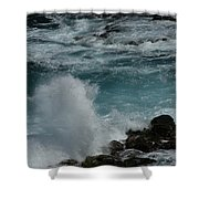 Maliko Point Maui Hawaii Shower Curtain