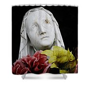 Mama Mary Shower Curtain