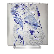 Mama Ne Tata 1 Shower Curtain