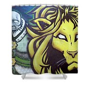 Man And Beast Shower Curtain