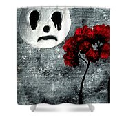Man In The Moon Shower Curtain
