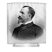 Man With Goatee, 1896 Shower Curtain