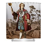 Man With Surgical Equipment Shower Curtain