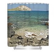 Manana Island View 0068 Shower Curtain