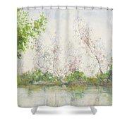 Mangrove Swamp Shower Curtain