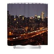 Manhattan- 2 Shower Curtain
