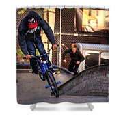 Manhattan Bmx Shower Curtain
