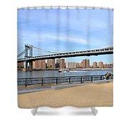 Manhattan Bridge1 Shower Curtain