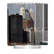Manhattan Buildings Shower Curtain