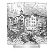 Manhattan College, 1868 Shower Curtain