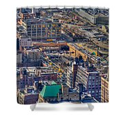 Manhattan Lincoln Tunnel Entrance Shower Curtain