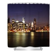 Manhattan Panorama Shower Curtain