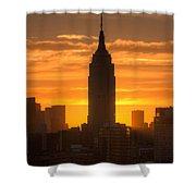 Manhattan Sunrise II Shower Curtain