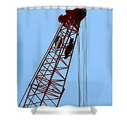 Manitowoc Skies Shower Curtain