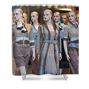 Mannequins I Shower Curtain