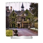 Manor House At Castle Combe  Shower Curtain