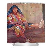 Mansorya Shower Curtain