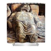 Mantegna: The Dead Christ Shower Curtain