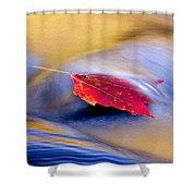 Maple Stream Shower Curtain
