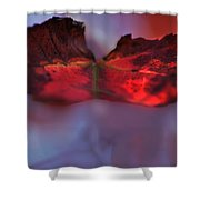 Maple Winds Shower Curtain