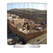 Mar Saba Monastery Shower Curtain