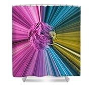 marabou Colour Splash Shower Curtain