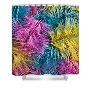 Marabou Colours Shower Curtain
