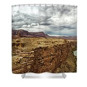Marble Canyon Overlook Shower Curtain