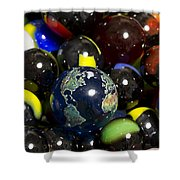 Marble Collection 23 A Shower Curtain